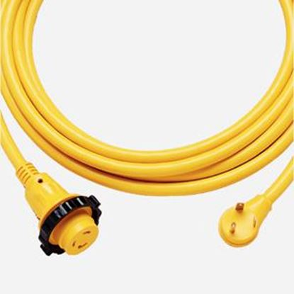 Picture of Marinco  25' L 30A Yellow Power Cord 25SPP.RV 19-0522
