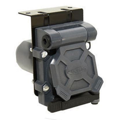 Picture of Hopkins  7-Way Blade/5-Wire Flat/4-Wire Flat Trailer End Trailer Connector 48470 19-0853