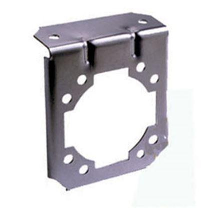 Picture of Bargman  7-Way Steel 90 Deg Bend Trailer Connector Bracket 50-77-070 19-1053