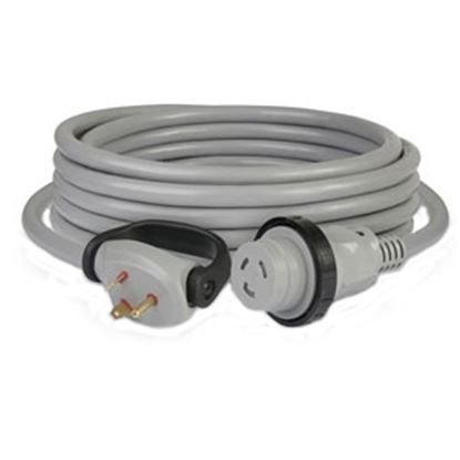 Picture of Marinco  25' L 30A Gray Power Cord 25SPPG.RV 19-4082