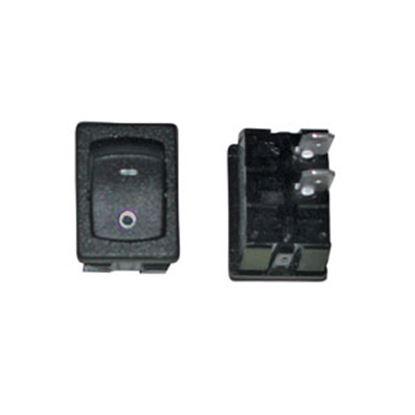 Picture of Diamond Group  Black 125V/ 16A SPST Rocker Switch DG218SVP 19-5021