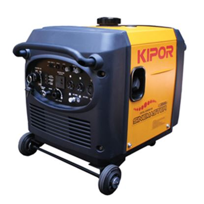 Picture of Kipor  3000W Gasoline Recoil/Electric Start CARB Compliant Inverter Generator  19-8555