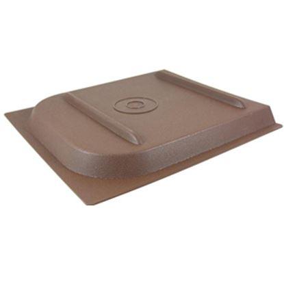 """Picture of Valterra P Series 11-11/16""""H X 11-7/8""""W Brown Plastic Screen Door Slide W/Stop A77021 20-0158"""
