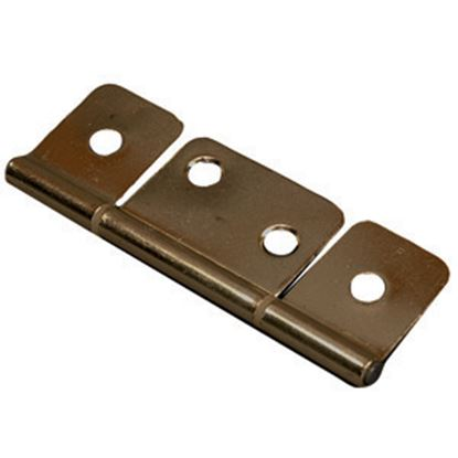 "Picture of AP Products  Brass 3"" Non-Mortise Hinge, 1/pr 013-046 20-0725"