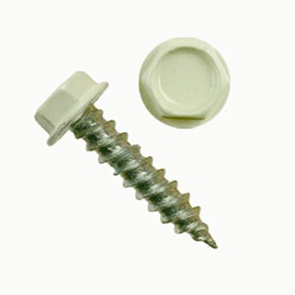 """Picture of AP Products  100-Pack #8 X 3/4""""L Hex Washer Head Screw 012-TR100 8 X 3/4 20-0856"""