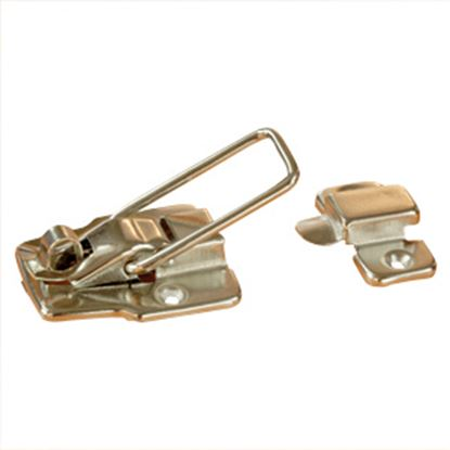 """Picture of RV Designer  1-3/4"""" X 3"""" Zinc Plated Entry Door Latch E201 20-1776"""