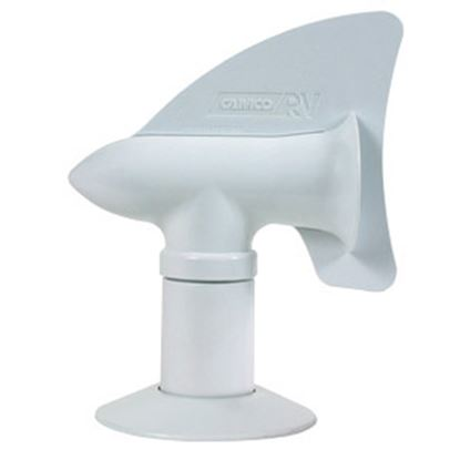 """Picture of Camco Cyclone White 2"""" Plumbing Vent Cap 40595 22-0049"""