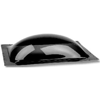 """Picture of Specialty Recreation  3.5""""H Bubble Dome SQ Smoke Black Polycarbonate Skylight w/Sealant K1414S 22-0057"""