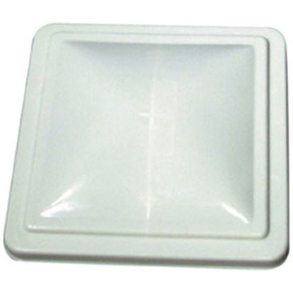 """Picture of Camco  White Polycarbonate 14"""" x 14"""" Old Ventline/ Elixir Style Roof Vent Lid 40161 22-0216"""