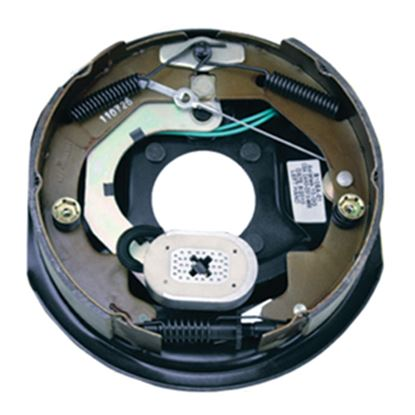 """Picture of Correct Track  10"""" Right Hand Self-Adjusting Electric Brake Assem 296650 46-7051"""