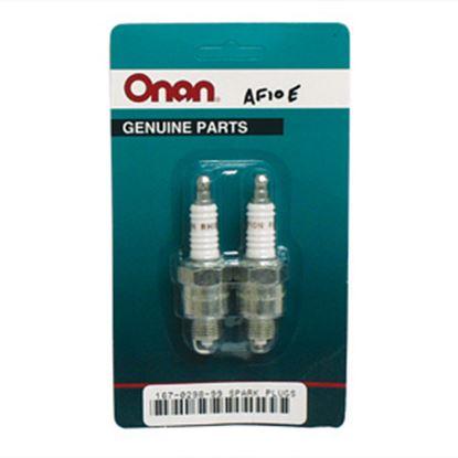 Picture of Cummins Onan  2-Pack Spark Plug for Cummins Generators 167-0298-99 48-2091