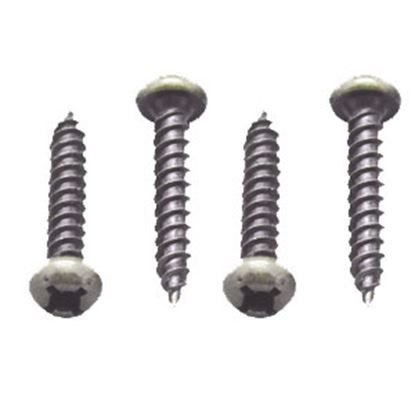 """Picture of AP Products  50-Pack #8 X 1""""L Pan Head Square Recess Screw 012-PSQ50BZ 8 X 1 69-0060"""