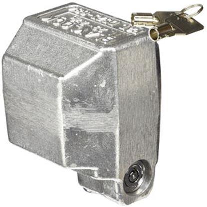 "Picture of Blaylock  2-5/16"" Aluminum Bulldog Trailer Coupler Lock TL-23 69-0708"