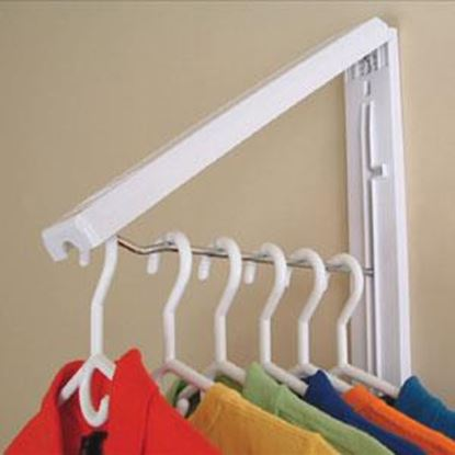 Picture of Instahanger  Wood Dream Catcher Foldaway Clothes Hanging System AH12CC/R 69-5327
