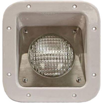 Picture of Intertek  Polar White Lens Rectangular Halogen Porch Light GL-101-18 69-5444