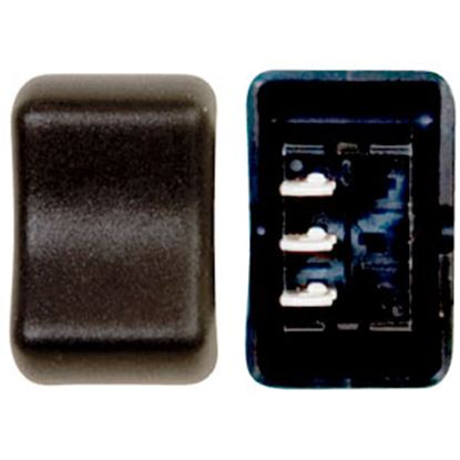 Picture of Diamond Group  Black 125V/ 16A SPDT Rocker Switch For Water Heaters DG2F12VP 69-8786