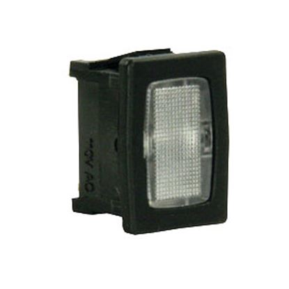 Picture of Diamond Group  14V Clear Indicator Light w/Black Case DGZ600VP 69-8888
