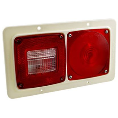 Picture of Grote  Red/Clear Tail Light Assembly 51042 69-9066
