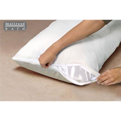 Picture of Mattress Safe Sofcover (R) Slate Gray Waterproof & Breathable Fabric Pillow Protector CWPS-STD SG 69-9279