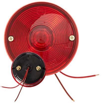 """Picture of Peterson Mfg.  Red 3-3/4"""" Round Stop/ Turn/ Tail/ License Light V428 69-9510"""