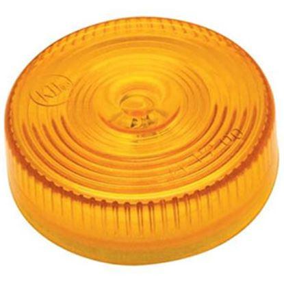 "Picture of Diamond Group  Amber 2""Dia x 1""H Side Marker Light WP-70AF 71-2622"