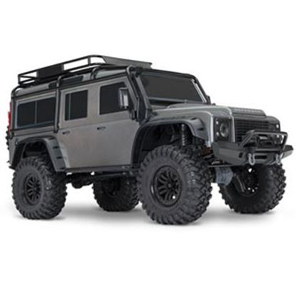 Picture of   Gray TRX4 Ready-To-Race RC Crawler w/ Land Rover Body 82056-4_SLV 71-7955