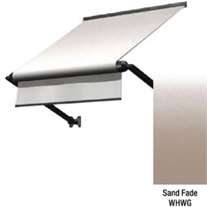 """Picture of Lippert Solara Sand Fade Vinyl 72""""L X 18""""Ext Manual Window Awning V000335106 90-2339"""